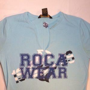 Rocawear Top V-Neck Juniors Medium